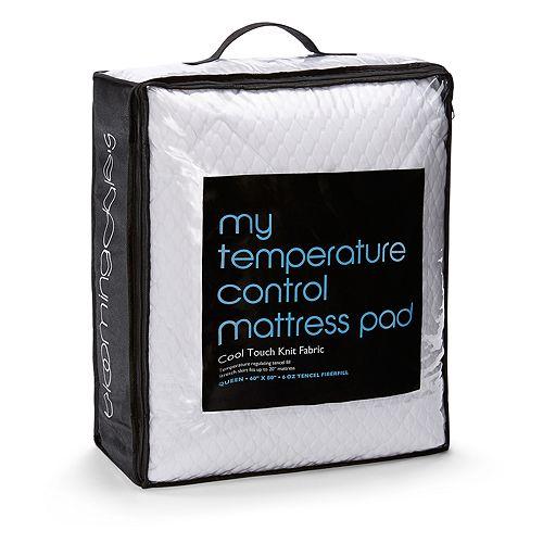 Bloomingdale's - My Temperature Contol Mattress Pad, Full - 100% Exclusive