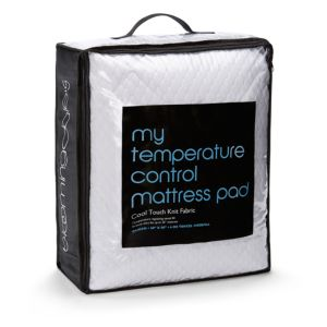 Bloomingdale's My Temperature Control Mattress Pad, California King - 100% Exclusive