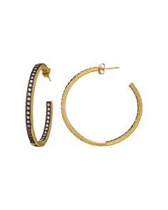 Freida Rothman Classic Pavé Hoop Earrings - Bloomingdale's_0