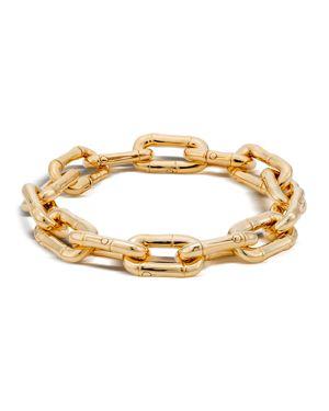 John Hardy Bamboo 18K Gold Small Link Bracelet