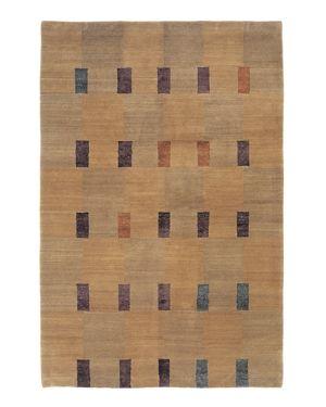 Tufenkian Artisan Carpets Double Square Bay Area Rug, 5'6 x 8'6