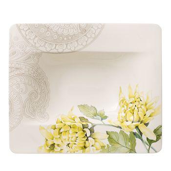Villeroy & Boch - Quinsai Garden Rimmed Soup Bowl, Chrysanthemum