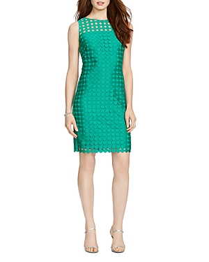 Lauren Ralph Lauren Mod Geometric Lace Dress