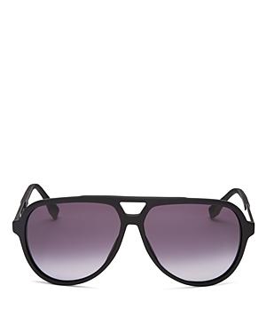 Hugo Boss Acetate Aviator Gradient Sunglasses, 60mm
