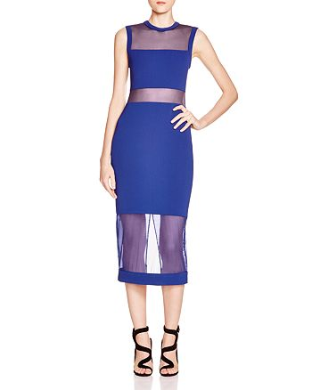 Alice and Olivia - Karman Illusion Dress