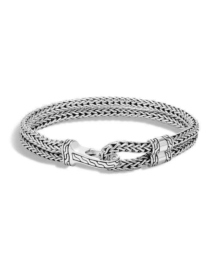 JOHN HARDY - Men's Sterling Silver Classic Chain Double-Row Bracelet