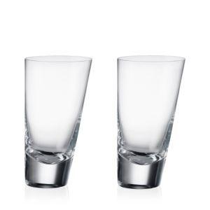 Rogaska 90 Degrees Highball Glass, Set of 2
