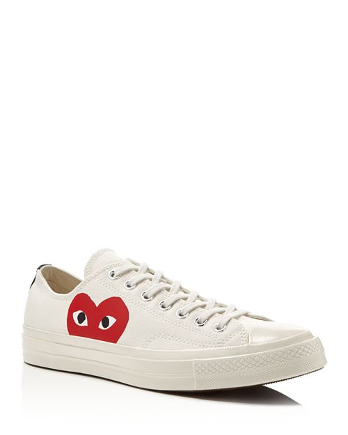 Comme Des Garcons PLAY - Men's Chuck Taylor Lace Up Sneakers