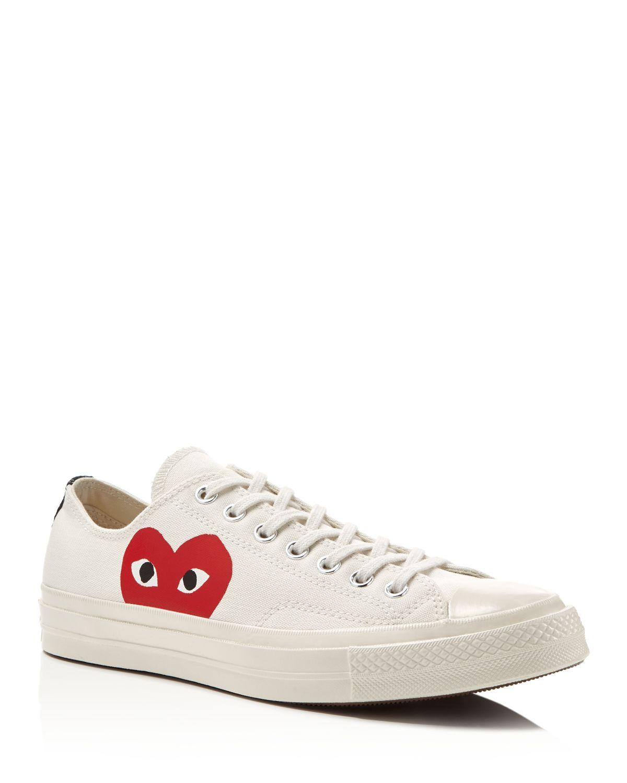 Comme des Gar?ons X Converse Men's Chuck Taylor Lace Up Sneakers