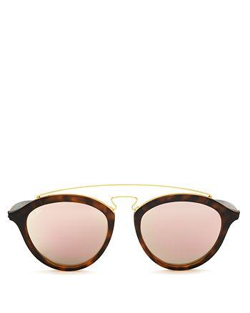 Ray-Ban - Unisex Mirrored Cat Eye Sunglasses, 50mm