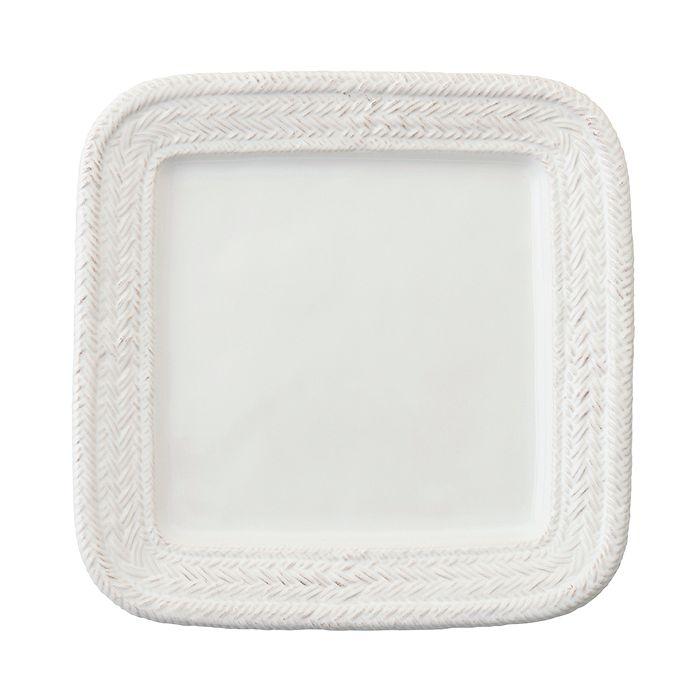 Juliska - Le Panier Whitewash Square Dinner Plate