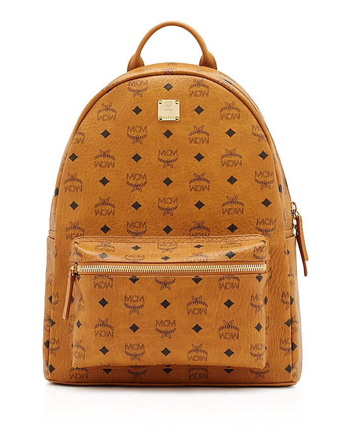 Mcm Canvases Stark Visetos Medium Backpack