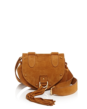 See by Chloe Small Collins Suede Saddle Bag