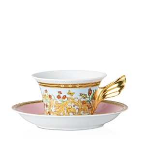 Rosenthal Meets Versace Butterfly Garden Low Teacup