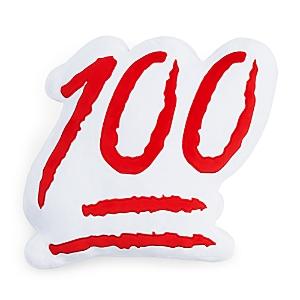 Throwboy 100 Emoji Decorative Pillow, 13 x 14