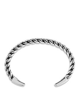 David Yurman - Chain Woven Cuff Bracelet