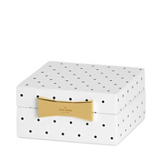 kate spade new york Garden Drive Square Jewelry Box - Bloomingdale's Registry_0