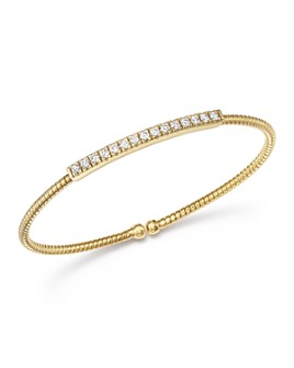 Bloomingdale's - Diamond Flex Bracelet in 14K Yellow Gold, .50 ct. t.w. - 100% Exclusive