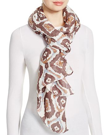 AQUA - Ikat Pareo Scarf - 100% Exclusive