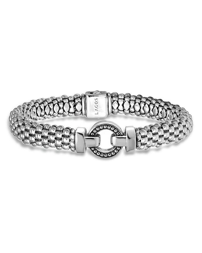 LAGOS - Sterling Silver Beaded Bracelet