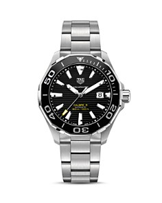 TAG Heuer Aquaracer Calibre 5 Automatic Watch, 43mm - Bloomingdale's_0