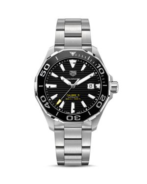 TAG HEUER Aquaracer Calibre 5 Automatic Watch, 43Mm in Blue