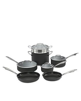Cuisinart - DS Anodized 11-Piece Cookware Set