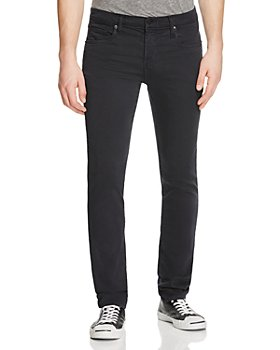 J Brand - Kane French Terry Straight Fit Jeans