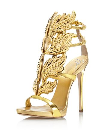 Giuseppe Zanotti - Women's Coline Cruel Embellished Wing High-Heel Sandals