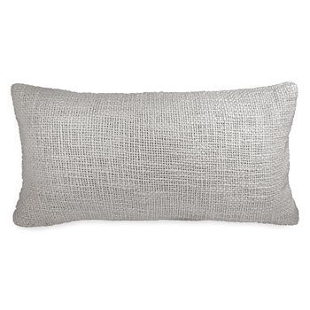 "DKNY - Loft Stripe Woven Decorative Pillow, 11"" x 22"""