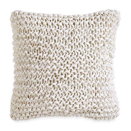 DKNY City Pleat Ribbon Decorative Pillow 40 X 40 Bloomingdale's Delectable Dkny Decorative Pillows