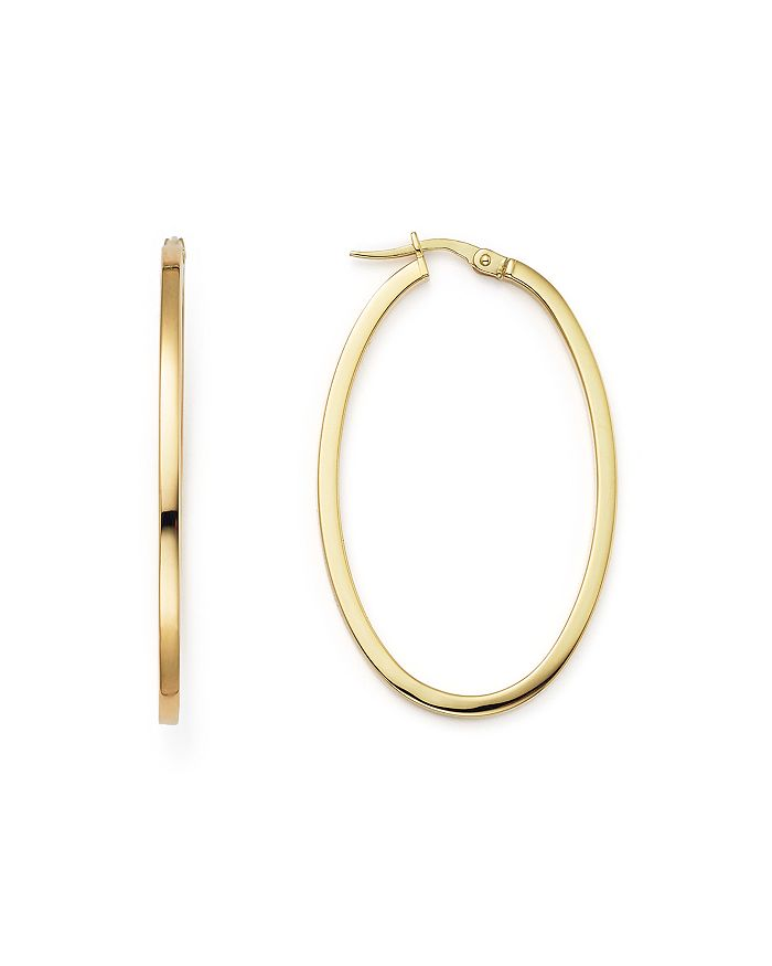 Roberto Coin - 18 K Yellow Gold Hoop Earrings