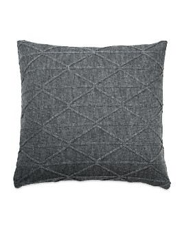 "DKNY - City Pleat Knit Decorative Pillow, 18"" x 18"""