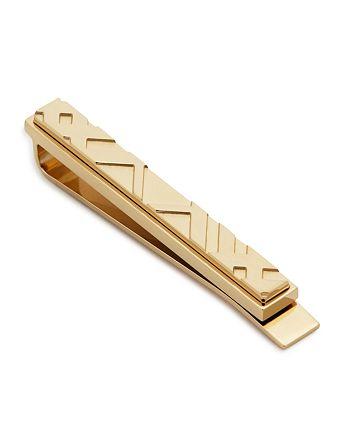 Burberry - Check Tie Bar