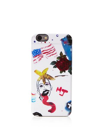 MARC JACOBS - Collage Print Mirror iPhone 6/6s Case