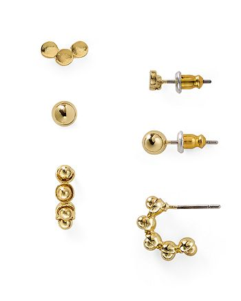 AQUA - Cami Earrings, Set of 3 Pairs - 100% Exclusive
