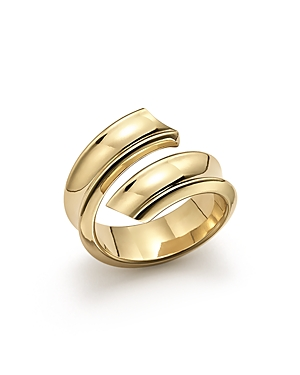 14K Yellow Gold Open Swirl Ring - 100% Exclusive