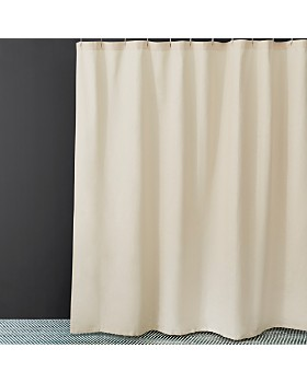 Waterworks - Washed Linen Shower Curtain
