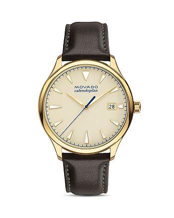 Movado - Heritage Calendoplan Watch, 40mm