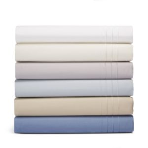 Hudson Park 800TC Sateen Fitted Sheet, Queen - 100% Exclusive