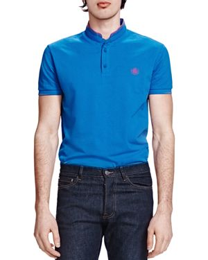 The Kooples Shiny Pique Classic Fit Polo