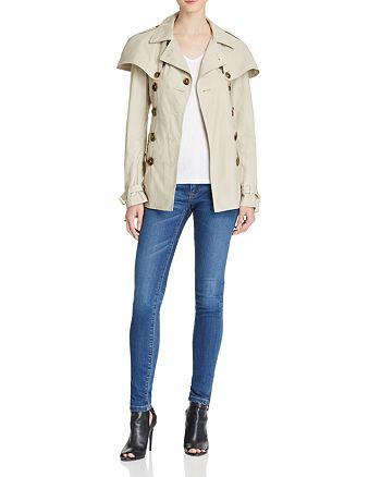 Burberry - Coat & Jeans