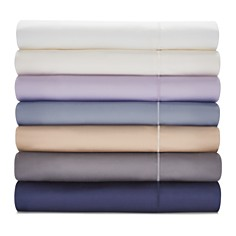 Hudson Park 500TC Sateen Iron Free Solid Sheets - 100% Exclusive - Bloomingdale's_0