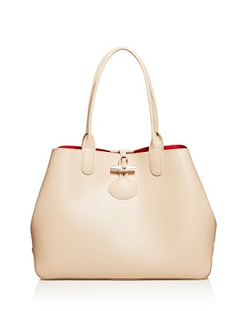 98590246c99 Longchamp Medium Roseau Reversible Shoulder Tote | Bloomingdale's