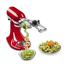 KitchenAid - 7-Blade Spiralizer Plus with Peel, Core and Slice #KSM2APC
