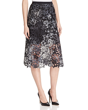 Elie Tahari Tayla Floral Lace Skirt - 100% Exclusive