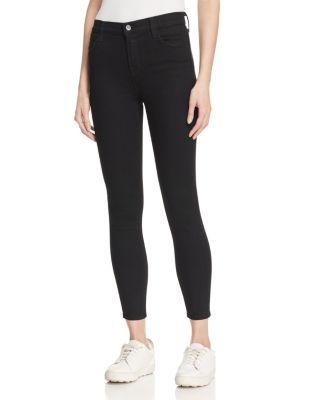 J Brand Jeans Womens Alana High Rise Crop Skinny