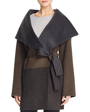 Basler Double Face Blanket Wrap Coat