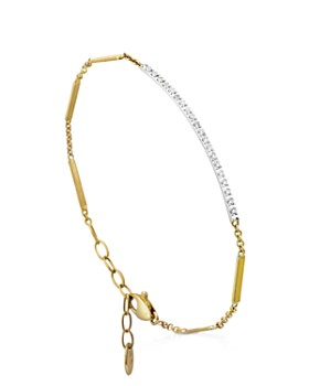 Marco Bicego 18k Yellow Gold Goa Diamond Bar Bracelet