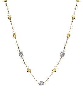Marco Bicego - Siviglia 18K Yellow Gold Necklace with Diamonds, 16.5""